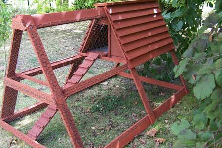 Construisez votre poulailler avec des palettes en bois - Recuperation de bois gratuit ...