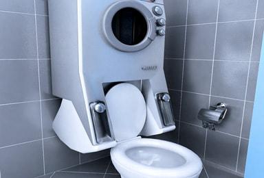 ma machine laver fait aussi wc terra eco. Black Bedroom Furniture Sets. Home Design Ideas