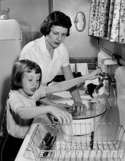 imprimer vaisselle la main ou la machine. Black Bedroom Furniture Sets. Home Design Ideas