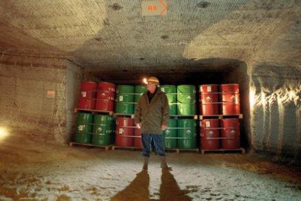 Confinement recommandé pour les déchets de Stocamine