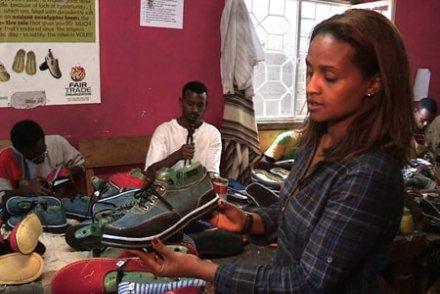En Ethiopie, des pneus pour se chausser
