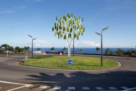 L'arbre à vent, l'invention française qui amène l'éolien dans les villes