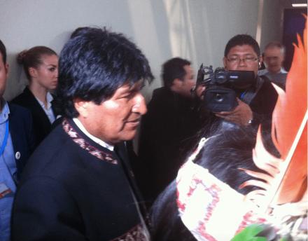 Evo Morales : « Pour sauver le climat, c'est le capitalisme qu'il faut éradiquer »