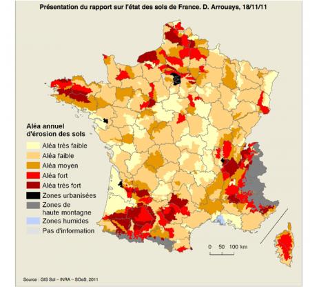 Pollué Labouré Oublié Le Sol Français Est En Train De