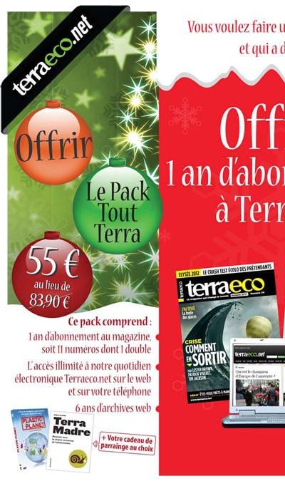 Pack Abonnement tout Terra 55€