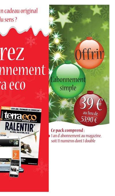 Abonnement simple Terra 39 €